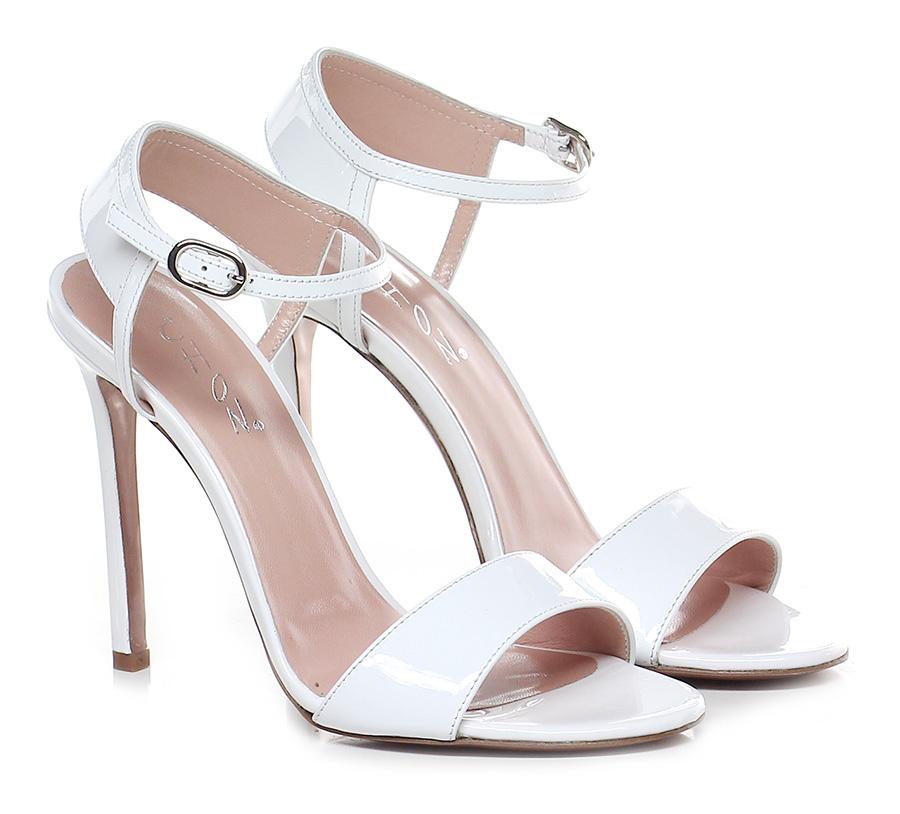 Sandalo alto Bianco Chon Verschleißfeste billige Schuhe