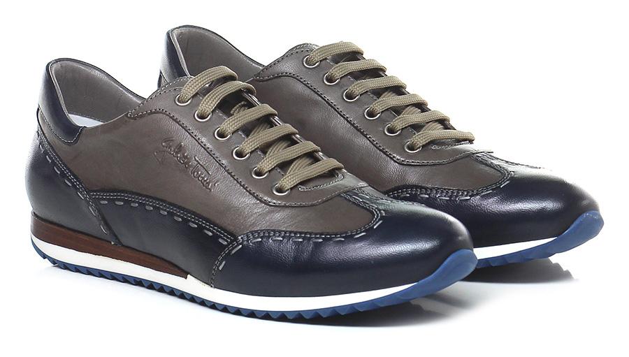 Sneaker Blu/fango Galizio Torresi