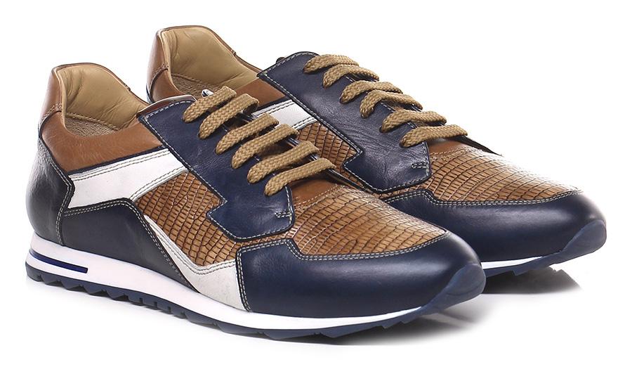 Sneaker Blu/cammello Galizio Verschleißfeste Torresi Verschleißfeste Galizio billige Schuhe b20f6b
