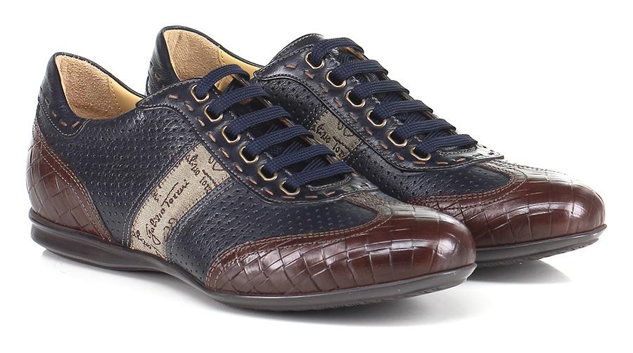 Sneaker T.moro/blu Galizio Torresi