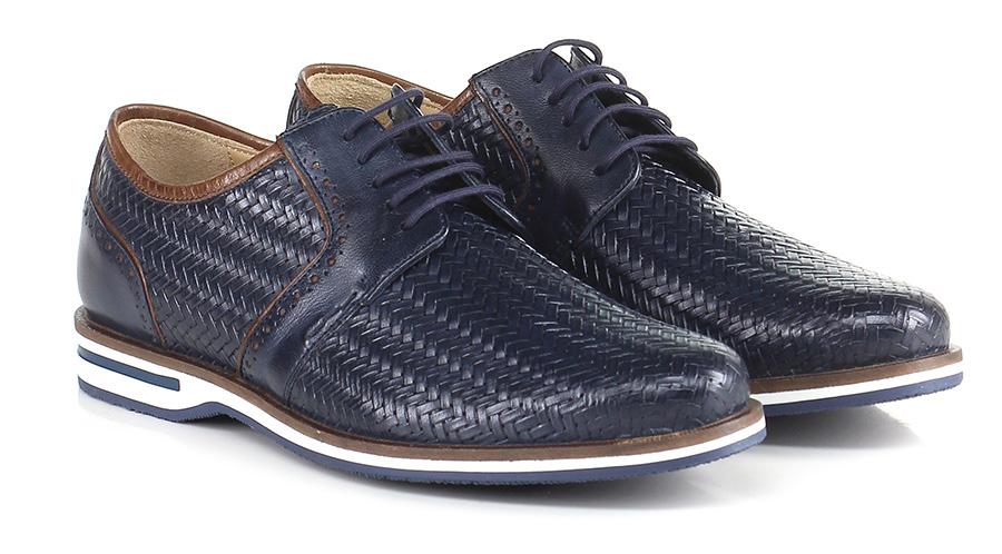 Stringata Blu Galizio Torresi Verschleißfeste billige Schuhe