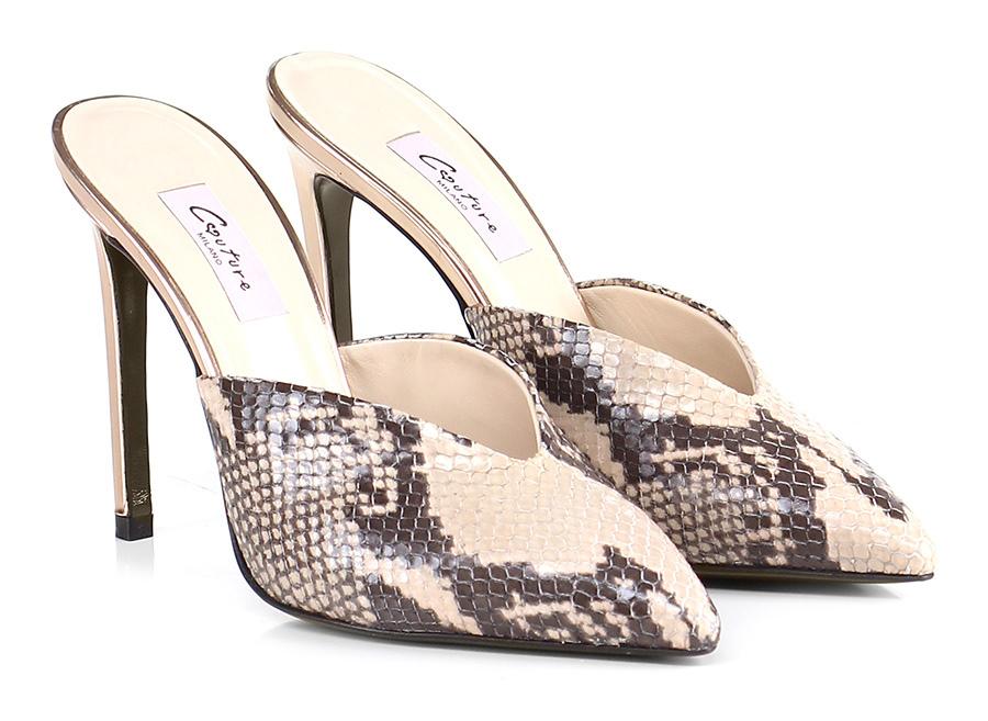 Scarpa con tacco Roccia Couture Hohe Qualität