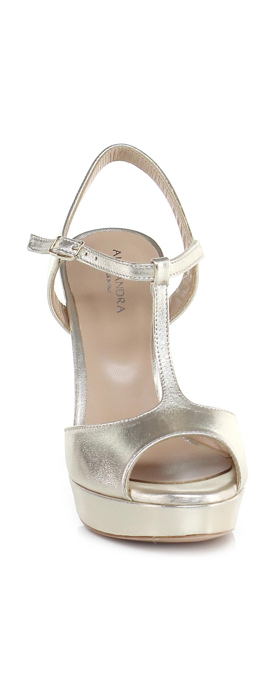 Sandalo alto alto Sandalo Platino Alexandra Verschleißfeste billige Schuhe 2424d9