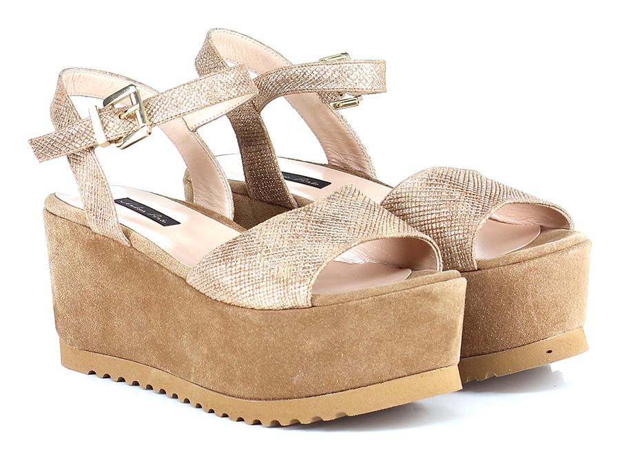 Zeppa Bronzo/cammello Andrea Pinto Verschleißfeste billige Schuhe
