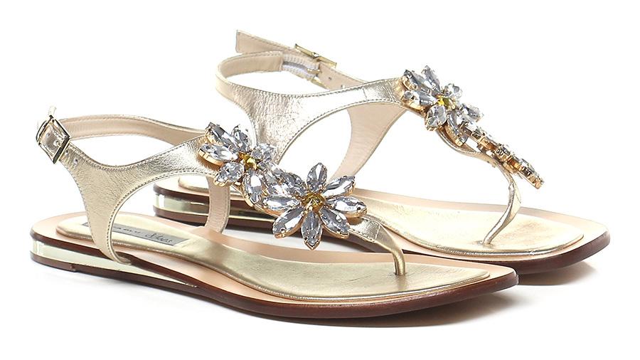 Sandalo basso Platino Tosca Blu Shoes