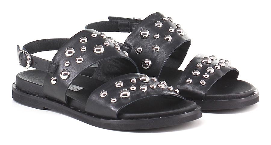Sandalo basso Nero Tosca Blu Shoes