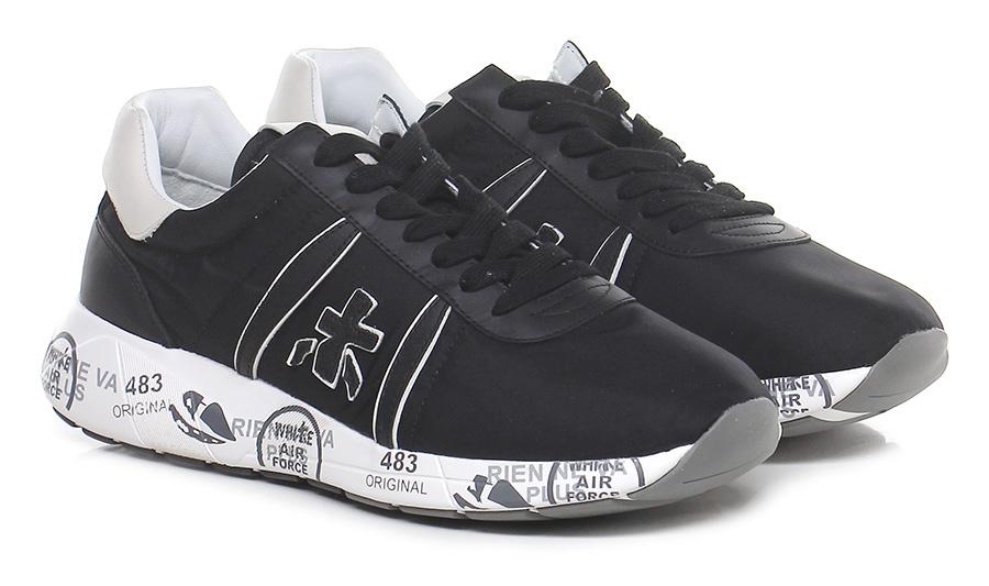 Sneaker 2832 black/white Premiata Verschleißfeste billige Schuhe