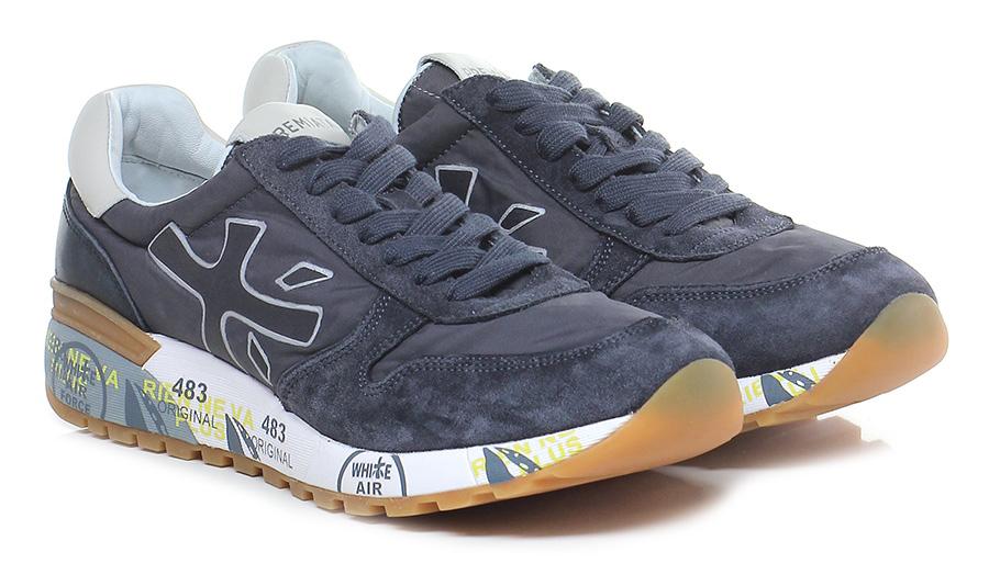 Sneaker 2819 midnight/ivory Premiata Mode billige Schuhe