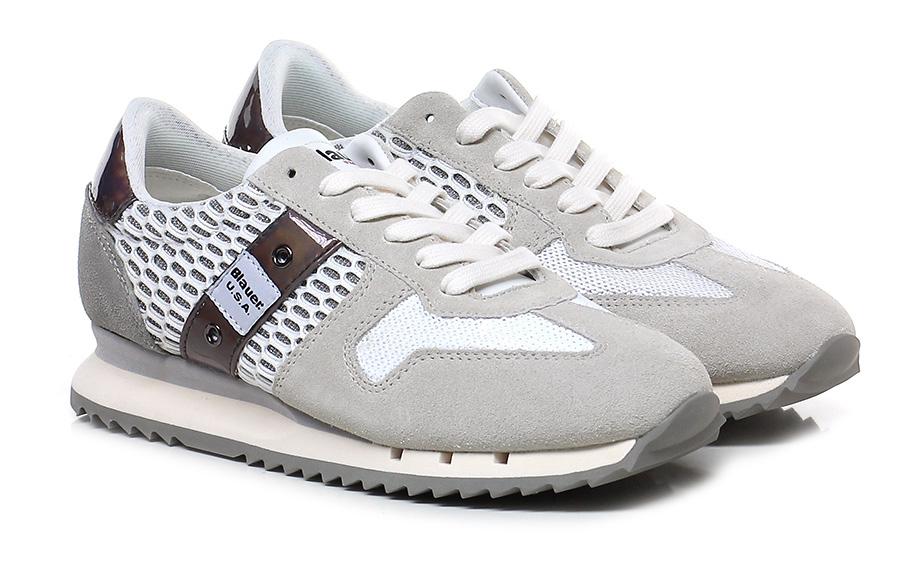 Sneaker White/ice Blauer Verschleißfeste billige Schuhe