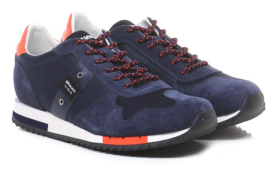 Sneaker Night/orange Blauer