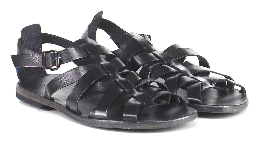 Sandalo Nero Moma Verschleißfeste billige Schuhe