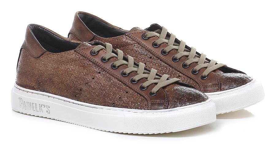 Sneaker Cuoio Pawelk's Verschleißfeste billige Schuhe