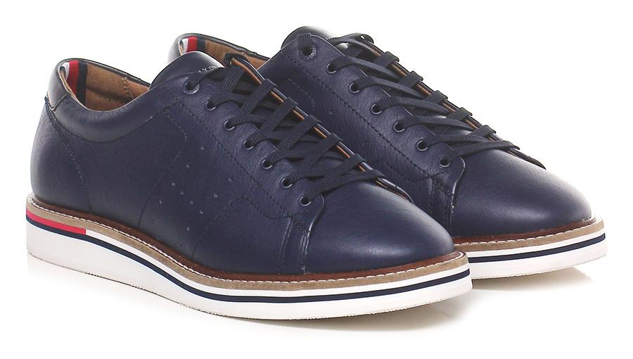 Sneaker Navy Tommy Hilfiger Verschleißfeste billige Schuhe