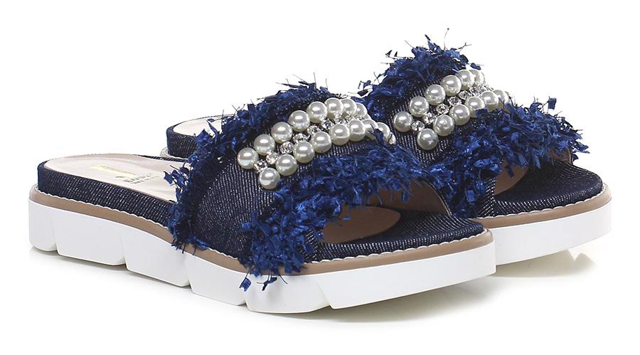 Sandalo basso Denim Jeannot Verschleißfeste billige Schuhe