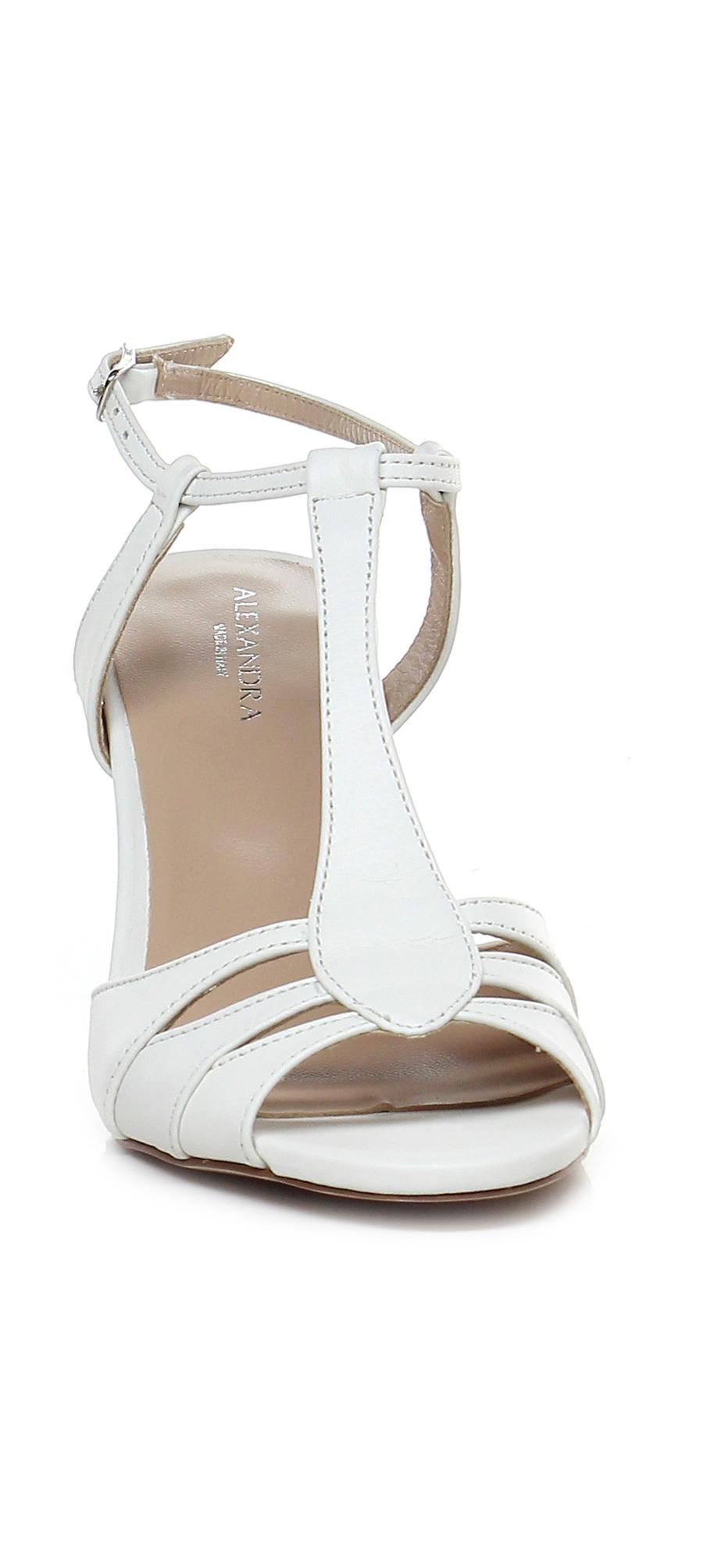 Sandalo Verschleißfeste alto Avorio Alexandra Verschleißfeste Sandalo billige Schuhe df6360