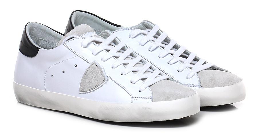 Sneaker White/ice/black Philippe Model Paris