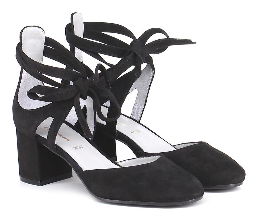 Scarpa con tacco Nero Carmens