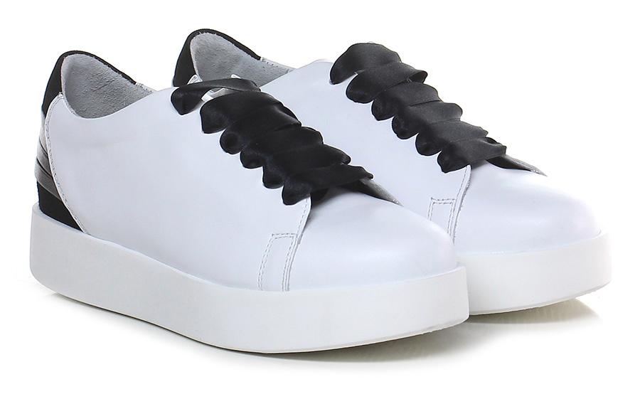 Sneaker Bianco/nero Carmens Scarpe economiche e buone