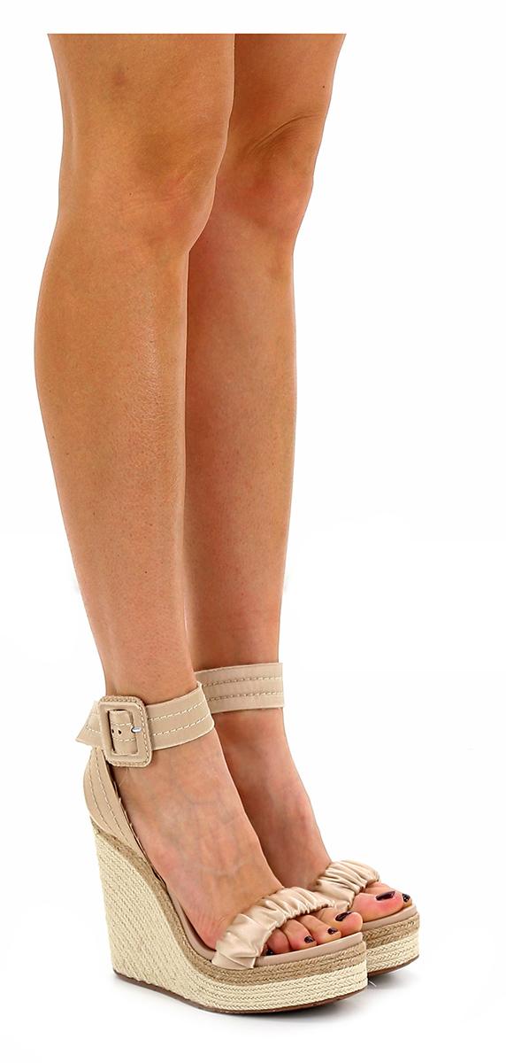 Zeppa Beige Pedro Garcia Verschleißfeste billige Schuhe