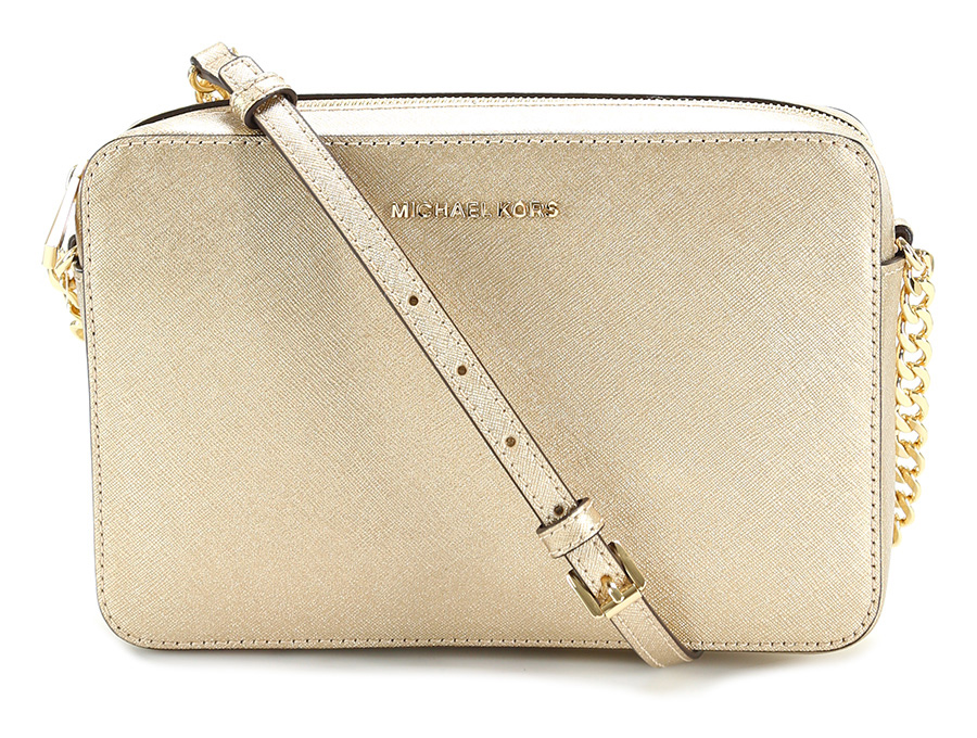 Borsa jet set travel Pale gold Michael Kors Le Follie Shop