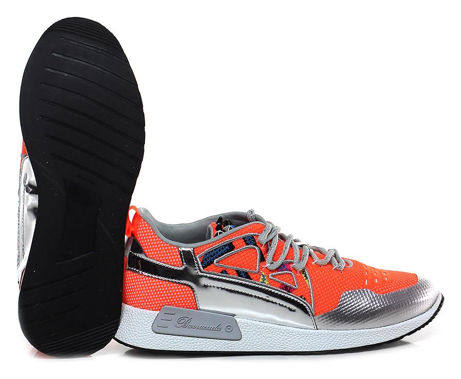 Sneaker Arancio/argento Barracuda Verschleißfeste billige Schuhe