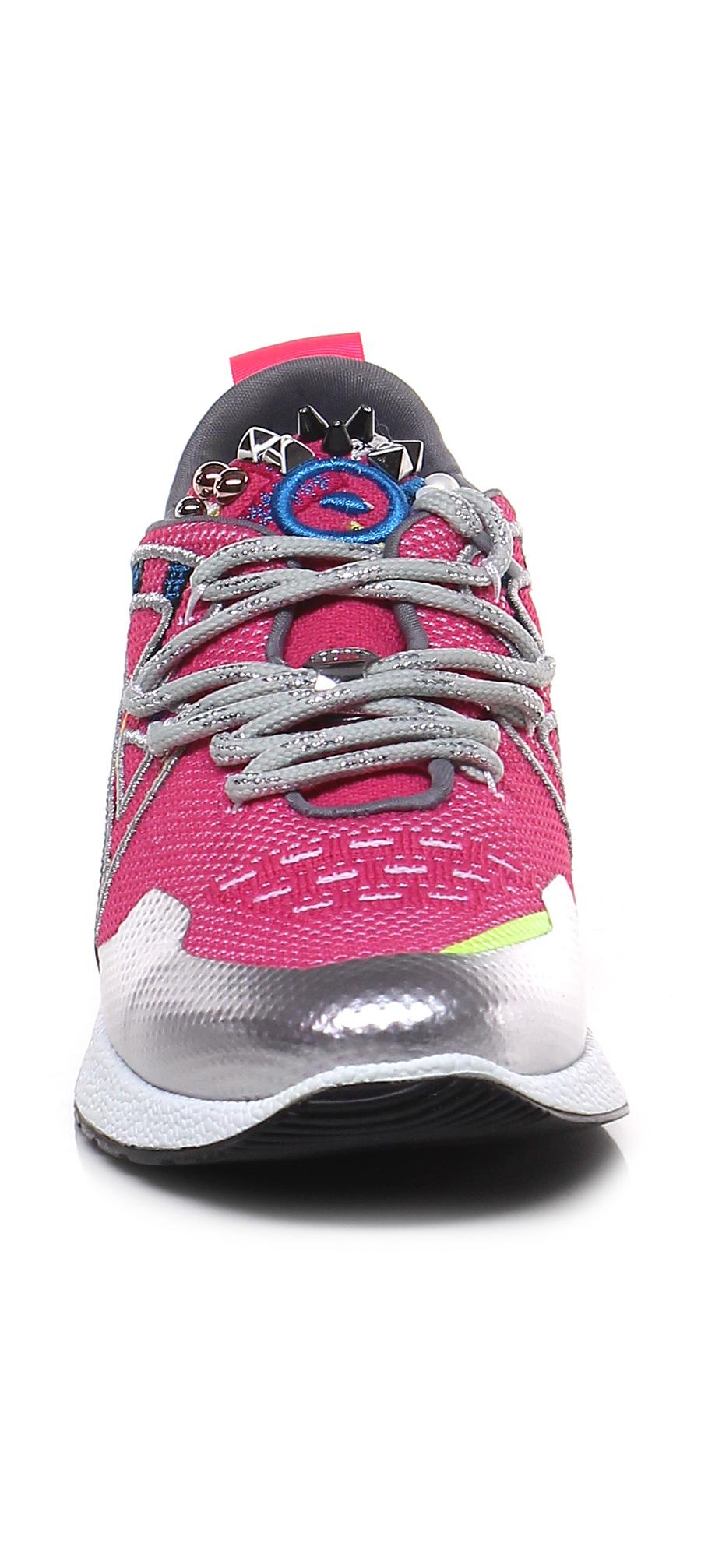 Sneaker Rosa/argento Barracuda Verschleißfeste billige Schuhe