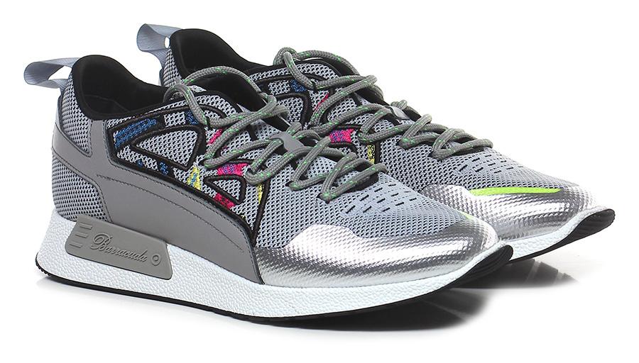 Sneaker Grigio Barracuda Verschleißfeste billige Schuhe