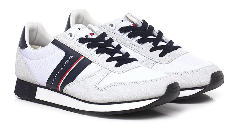 Sneaker White/ice/night Hilfiger Tommy Hilfiger White/ice/night Verschleißfeste billige Schuhe 9b43d1