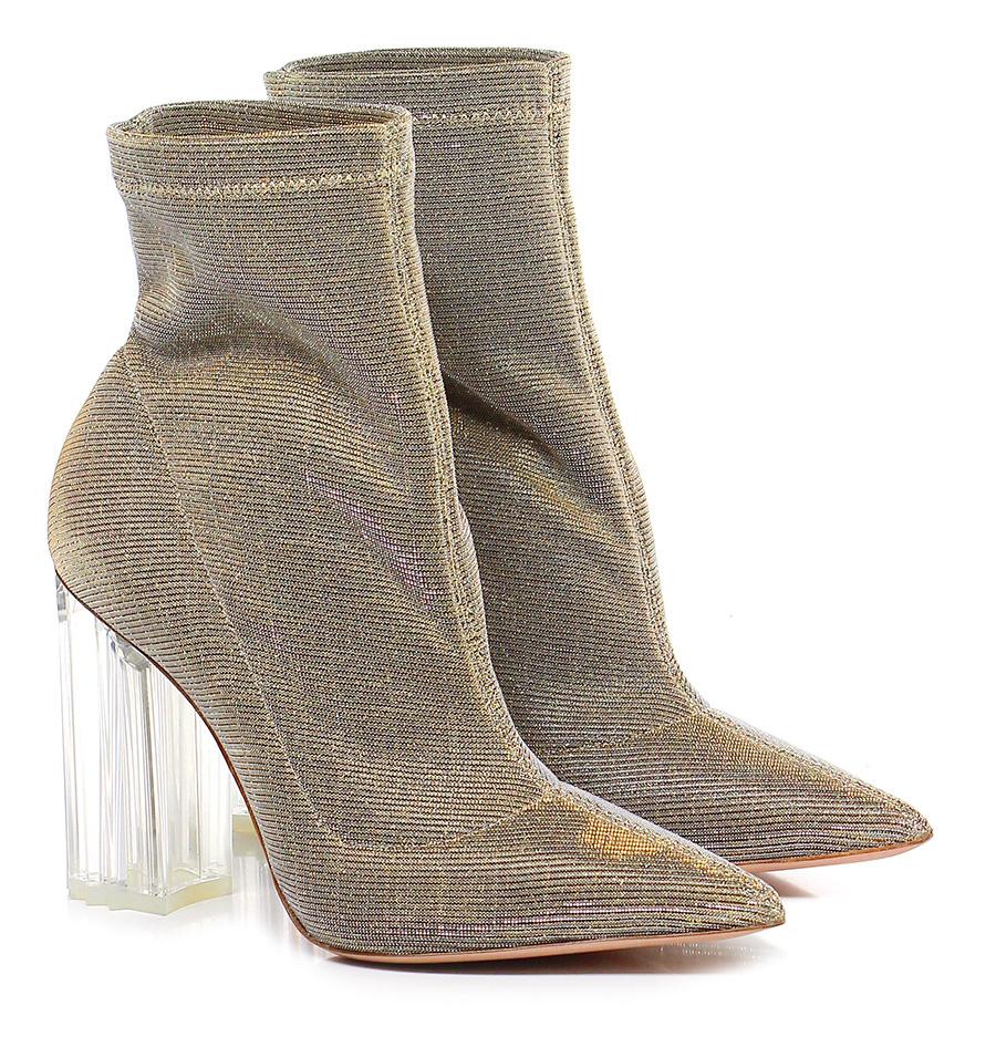 Tronchetto Platino/oro Le Silla Verschleißfeste billige Schuhe