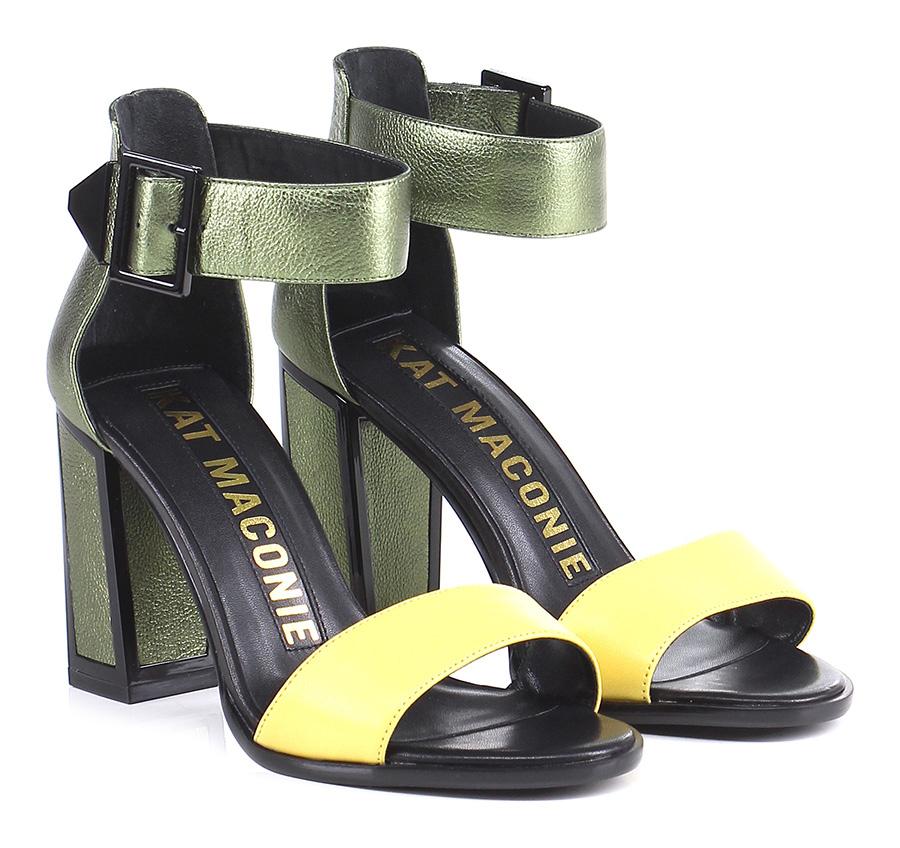 Sandalo alto  Green/yellow Kat Maconie