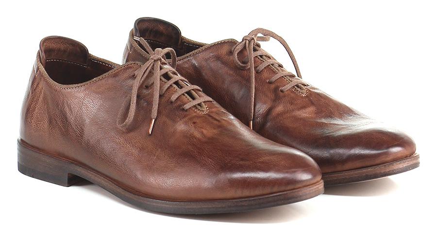Stringata Cuoio Shoto Mode billige Schuhe