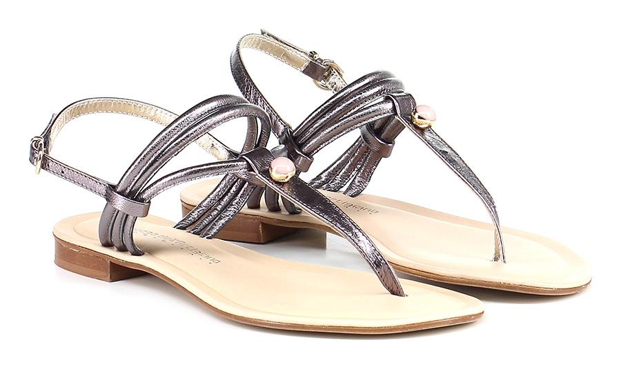 Sandalo basso Peltro Bottega Dell'artigiano