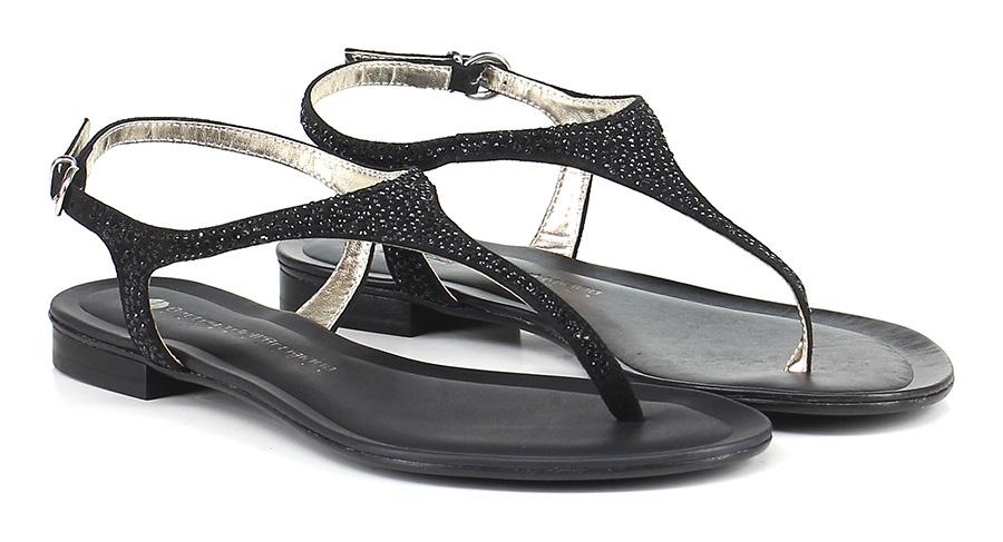 Sandalo basso Nero Bottega Dell'artigiano