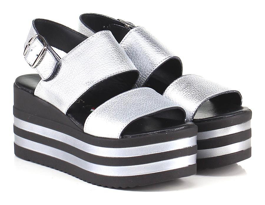 Zeppa Argento Gisele Paris Verschleißfeste billige Schuhe