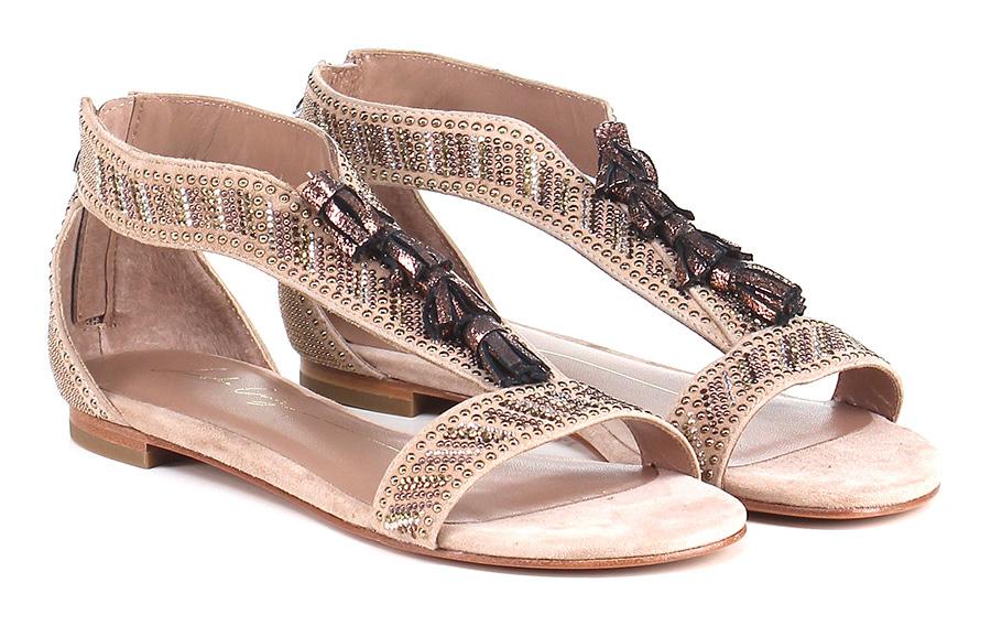 Sandalo basso Sabbia/bronzo Lola Cruz