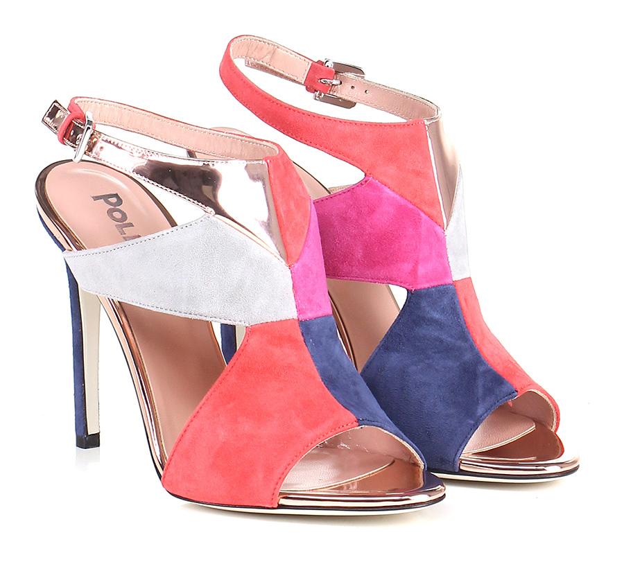 Sandalo alto Multicolor Pollini Studio Hohe Qualität
