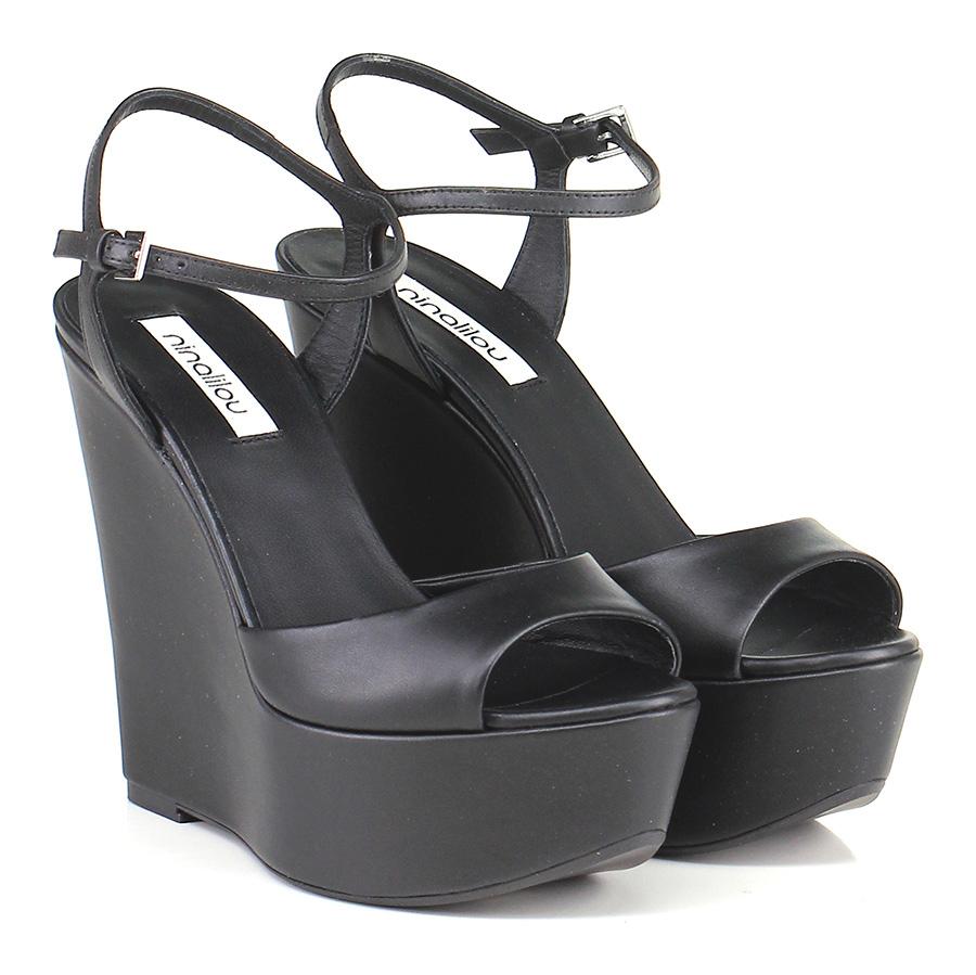 Zeppa Nero Ninalilou Verschleißfeste billige Schuhe