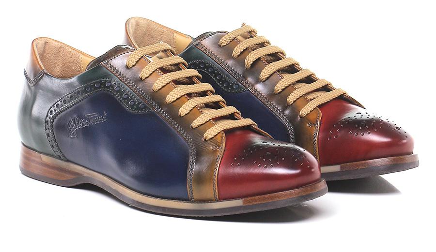 Stringata Rosso/blu/verde Galizio Torresi Mode billige Schuhe