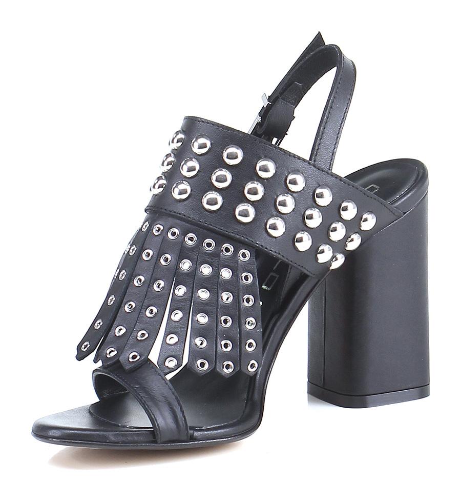 Sandalo alto Nero Giancarlo Paoli Hohe Qualität