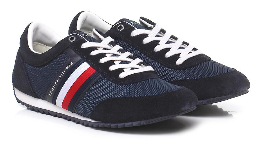 Sneaker Blue Tommy Hilfiger Verschleißfeste billige Schuhe