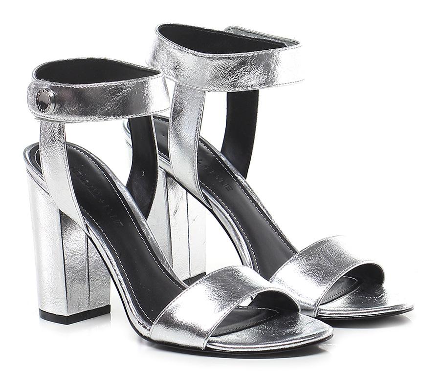 Sandalo alto Silver Kendall Kylie Hohe Qualität