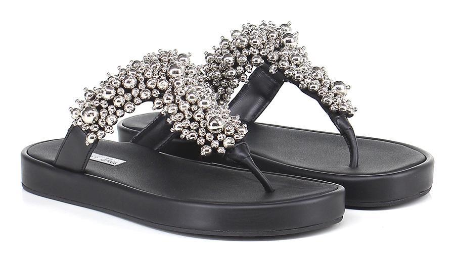 Sandalo basso Nero Tosca Blu Blu Tosca Shoes a9668c