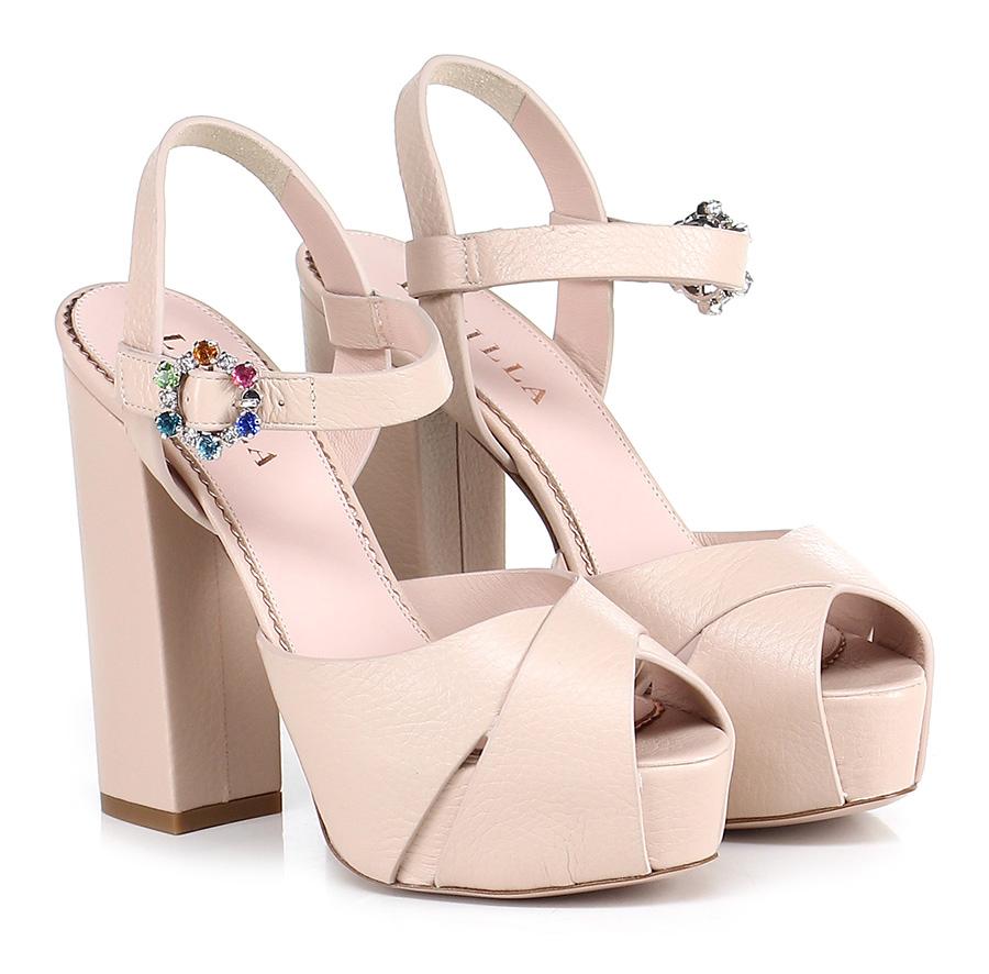 Sandalo alto  Carne Le Silla