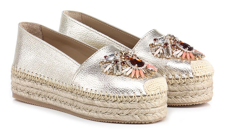 Scarpa bassa Platino Fiorina Verschleißfeste billige Schuhe