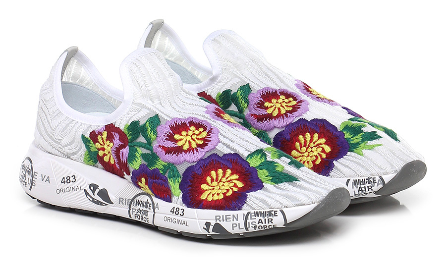 Sneaker 3127 white/multicolor Premiata Verschleißfeste billige Schuhe