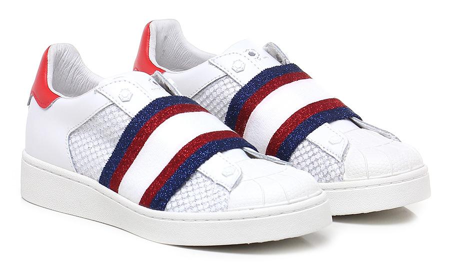 Sneaker Bianco/rosso/blu Moa Moa Moa Master Of Arts 2fda0f