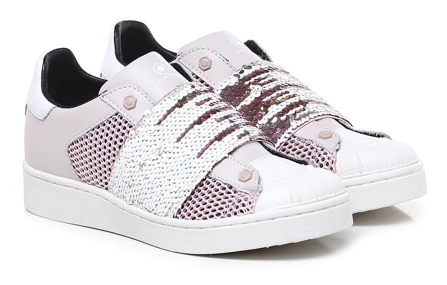 Sneaker Rosa/bianco Moa Master Of Arts