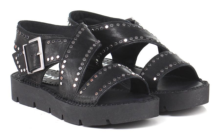 Sandalo Soigne' basso Nero Soigne' Sandalo Verschleißfeste billige Schuhe e71a14
