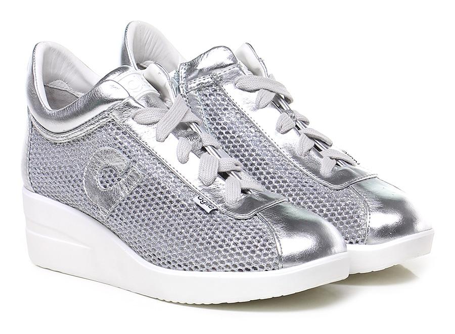 Sneaker Argento Agile by Rucoline Scarpe economiche e buone