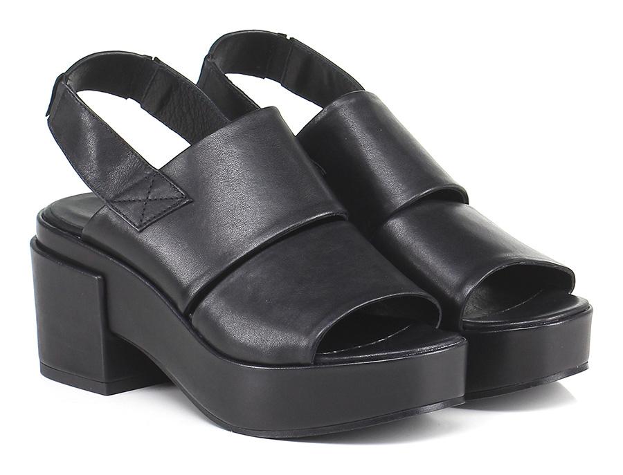 Sandalo alto Nero Lemare' Verschleißfeste billige Schuhe